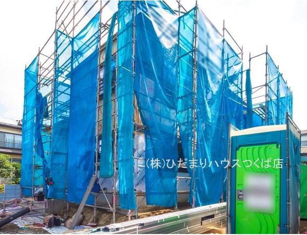 【前面道路含む現地写真】我孫子市湖北台18期 新築戸建 1号棟