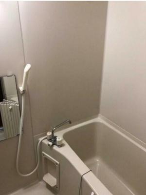 浴室乾燥機つきバス。