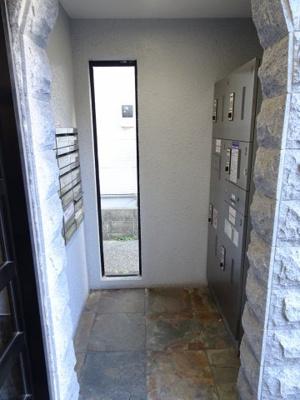 アーバンテラス町屋 不在時でも宅配便が受け取れる宅配ボックスあります