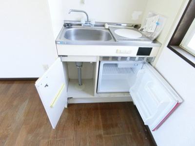 【キッチン】グランディハイツ九十九里C棟