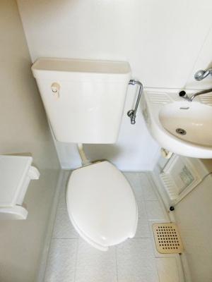【トイレ】グランディハイツ九十九里C棟