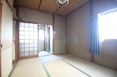 【寝室】三村アパート