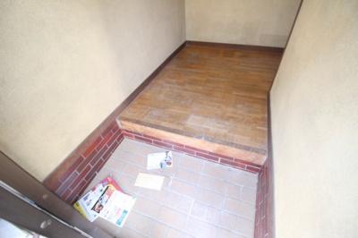 【玄関】三村アパート