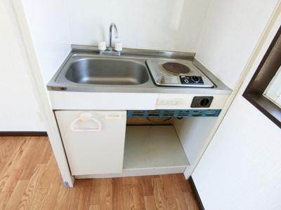 【キッチン】グランディハイツ九十九里A棟