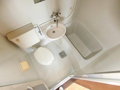 【浴室】グランディハイツ九十九里A棟