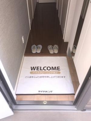 【玄関】ティルタ サリ