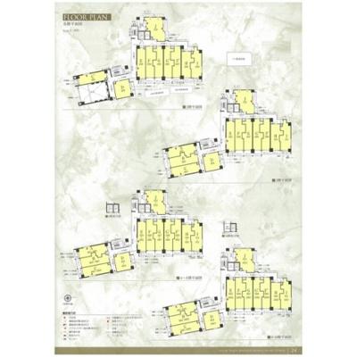 【区画図】エステムプラザ名古屋駅前プライムタワー