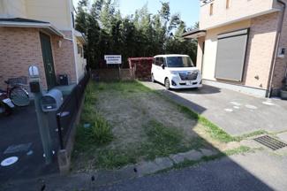 八千代市八千代台西 土地 八千代台駅 駐車場スペースは車種により2台縦列駐車可能です。