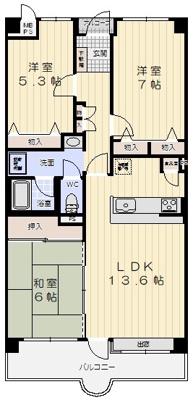 【内装】垂水五色山アーバンライフ