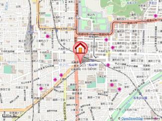 【地図】マツケンビル