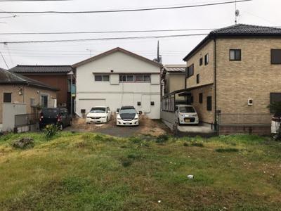 一戸建て住宅の立ち並ぶ低層地域