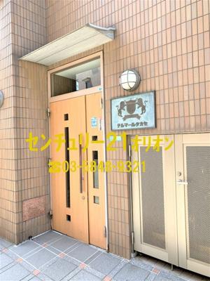 【玄関】テルマール・タカセ(中村橋)-2F