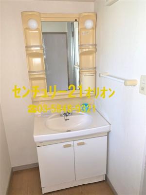 【洗面所】テルマール・タカセ(中村橋)-2F