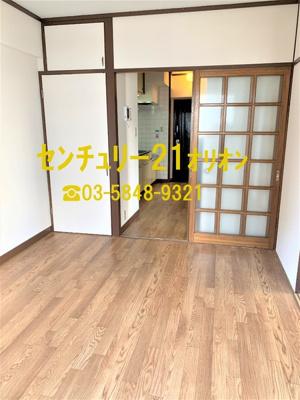 【居間・リビング】サンハイツ竹内(タケウチ)-6F