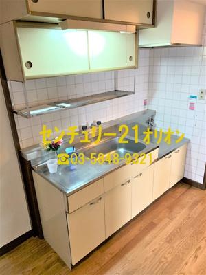 【キッチン】サンハイツ竹内(タケウチ)-6F