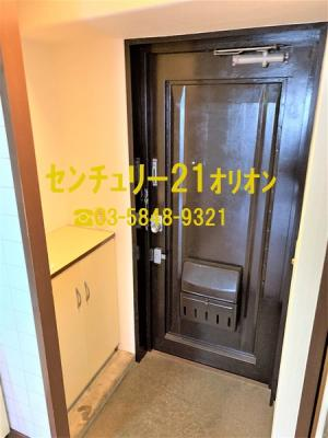 【玄関】サンハイツ竹内(タケウチ)-6F