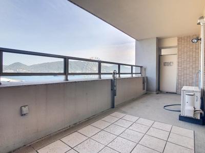 【バルコニー】アドバンス21ベイスクエアコンコルディア 903号室