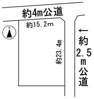 【区画図】56678 関市平賀町土地