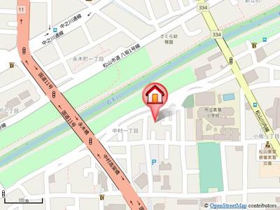 【地図】ヴェルディ白石・