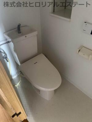 【トイレ】ウエステージ明石壱番館 明石市 二見町西二見