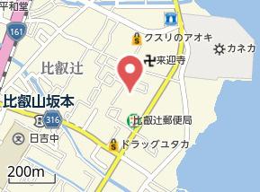 【地図】仮称)比叡辻一丁目マンション