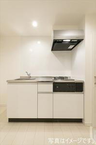 【キッチン】満室稼働中!西淀川区の一棟アパート
