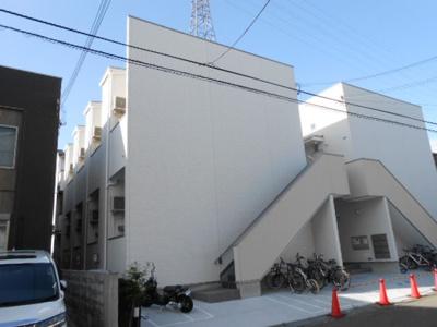 【外観】満室稼働中!西淀川区の一棟アパート