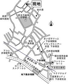 【地図】白馬レジデンシア