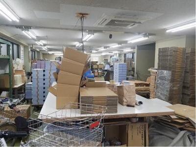 【内装】大田区池上3丁目 準工業地域 住居付き作業所