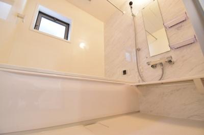 1坪タイプといわれる広々した浴室をご用意しております。一日の疲れをゆっくり癒して下さい。