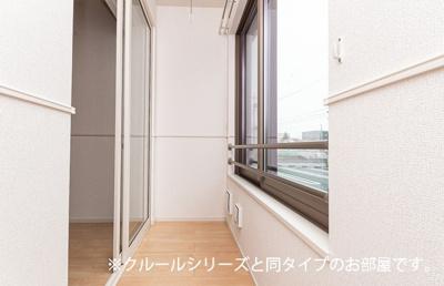 【バルコニー】高岡町アパート