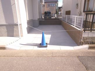 駐車場施工例です。