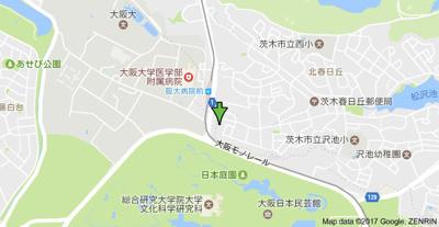 【地図】ニューサンライズ南春日丘