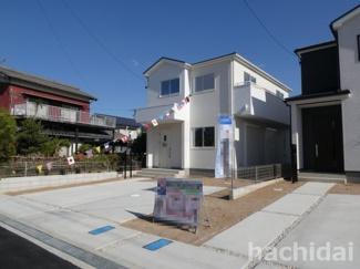 高浜市呉竹町2期新築分譲住宅1号棟写真です。2021年8月撮影