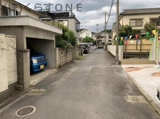 【前面道路含む現地写真】姫路市御立西2丁目/新築戸建