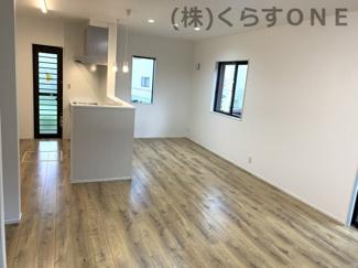 【居間・リビング】姫路市御立西2丁目/新築戸建