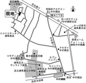 【地図】ラ・ネージュ