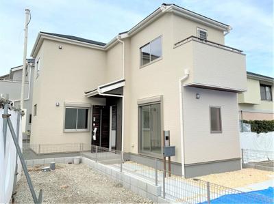 【外観パース】池田市緑丘2丁目 新築戸建 2号棟