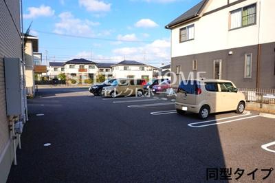 【駐車場】セジュール桜井B棟