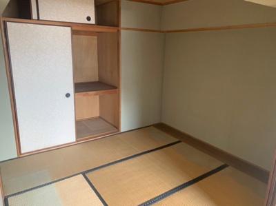収納のある和室です。