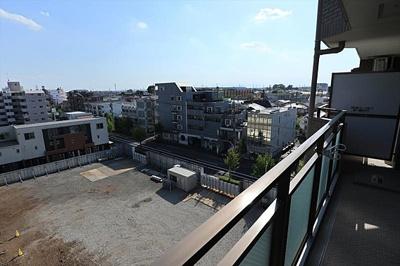 バルコニーからの眺望です