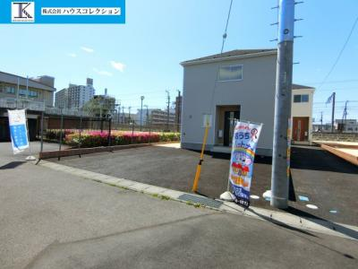 【外観】土浦市湖北第2 新築戸建 3号棟