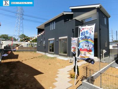 【外観】土浦市木田余東台7期 新築戸建 1号棟