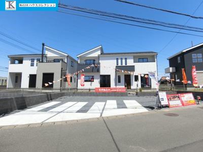 【外観】土浦市木田余東台7期 新築戸建 4号棟
