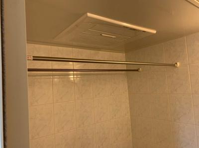 浴室乾燥ができます。
