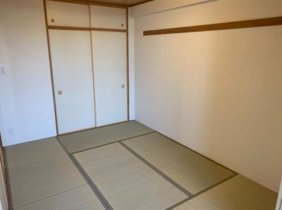 フローリングだけでなく、和室もあります。