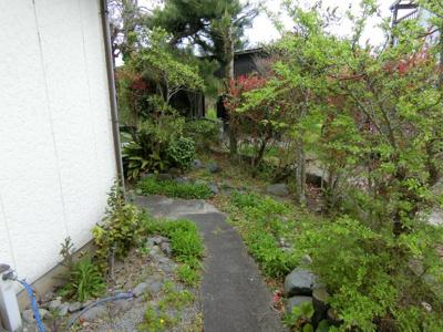 【庭】米子市河崎 中古住宅