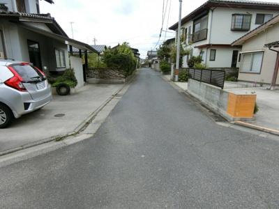【前面道路含む現地写真】米子市河崎 中古住宅