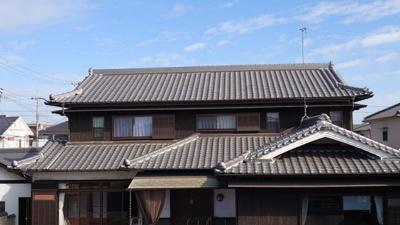 【外観】平岡町一色西の本格和風住宅