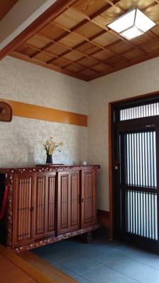 【玄関】平岡町一色西の本格和風住宅